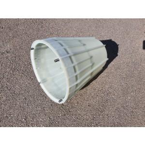 Pokrov diska; stožec PVC BCS404,405...Rotacijska kosilnica