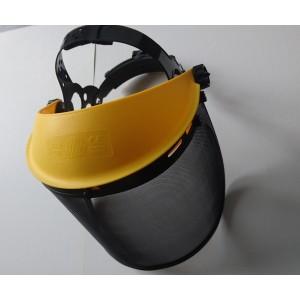 Maska za košnjo s trakom in kovinsko mrežo