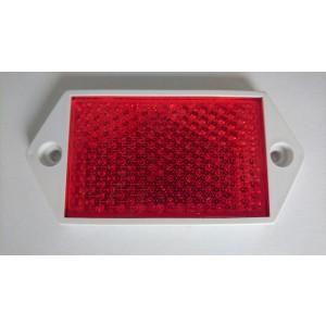Oko mačje pravokotno rdeče (cca 100x40mm)