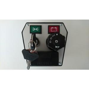 Plošča kontrolna z ključem